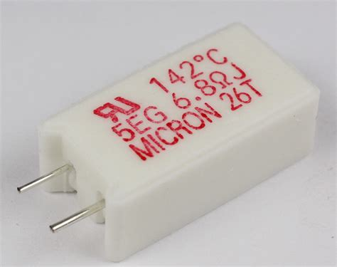 micron power resistors meg05n6r8ju142