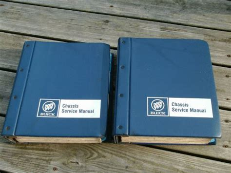 service and repair manuals 1987 buick electra security system sell 1983 buick service repair shop manual regal t type riviera century electra oem motorcycle