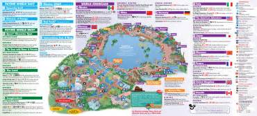 map of epcot florida park maps 2013 photo 4 of 8