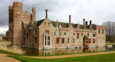 Family Home Plan by Oxburgh Hall Wikipedia