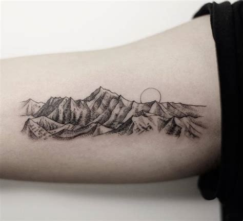 46 magnificent mountain tattoo designs