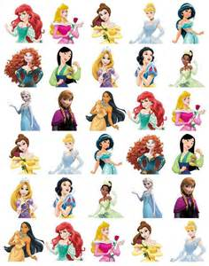 disney princess body stand cupcake toppers wafer paper buy2 3rdfree ebay