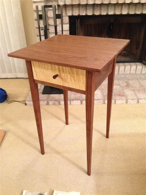 fancy shaker side table 77 in interior decor home with