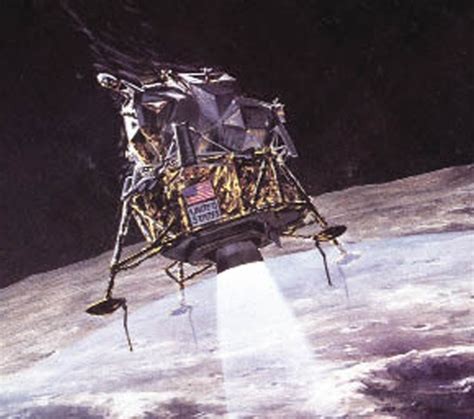 Lem Gom Apollo 11 Stage 9 The Descent To The Moon S Surface