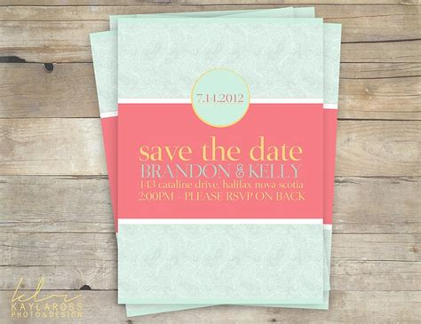 pink and aqua wedding invitations summery wedding invitation turquoise pink and yellow