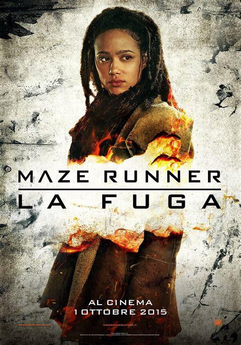 film maze runner 2 la fuga 2015 streaming ita quot maze runner la fuga quot character poster youmovies it
