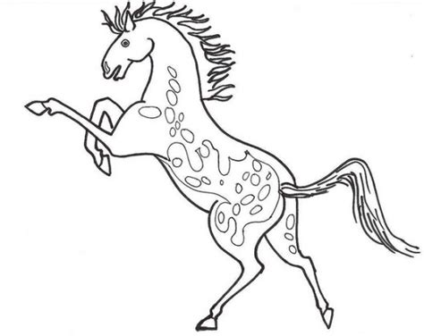 coloring pages of mustang horses mustang horse coloring pages bestofcoloring com