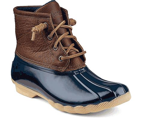 sperry duck boots womens sperry top sider saltwater duck boots for in and