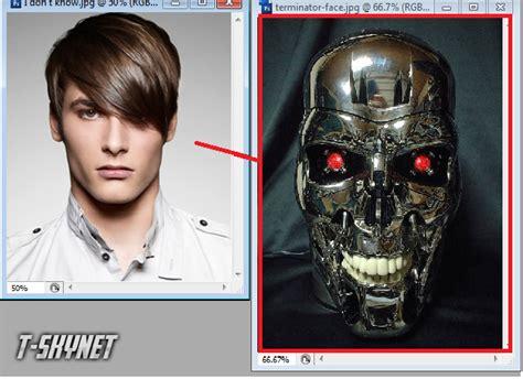 cara membuat wajah robot begini lo cara membuat wajah terminator wisbenbae