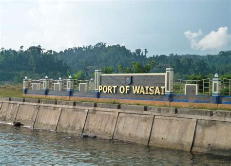 ferry waisai sorong raja at on shoestring simply alley