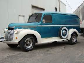history of chevrolet panel vans with pictures ehow