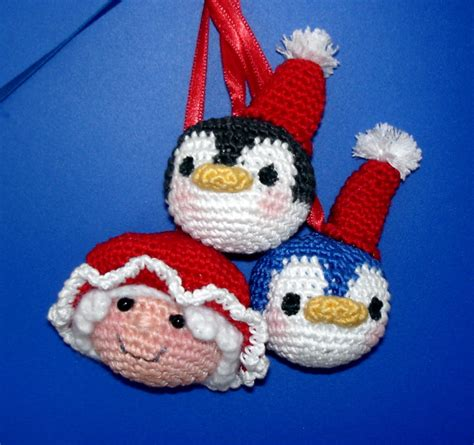 the perfect diy crochet christmas ornaments with free