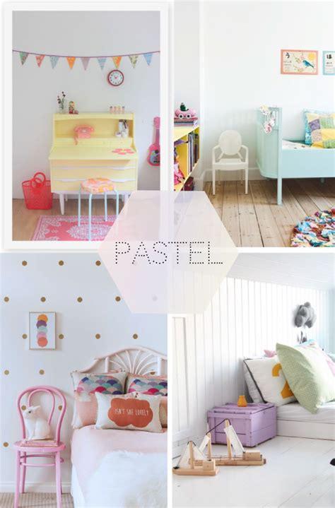chambres d enfants tendance pastel