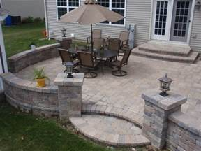 Brick Paver Patio Design Brick Pavers On Unibase System Lifetime Warranty Traditional Patio Chicago By Unibase