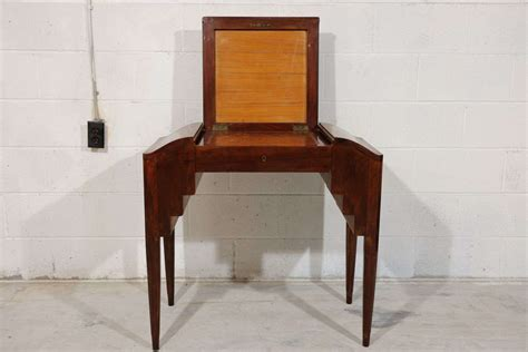 Small Vanity Table by Antique Deco Rosewood Small Vanity Table From