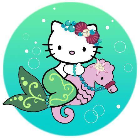 hello kitty mermaid wallpaper hello kitty on a seahorse by iluvsparkles on deviantart