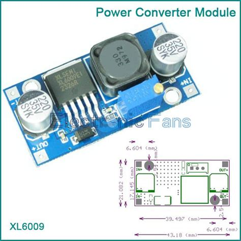 xlsemi integrated circuit xl6009 xl6009 dc dc adjustable step up boost power converter module replace lm2577 in integrated