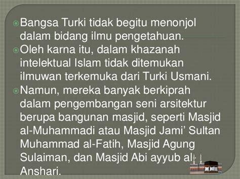 Khazanah Intlektual Islam perkembangan islam pada abad pertengahan