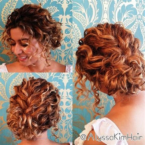Pin Up Hairstyles For Naturally Curly Hair by Updos For Curly Hair Hair Styles Curly Hair