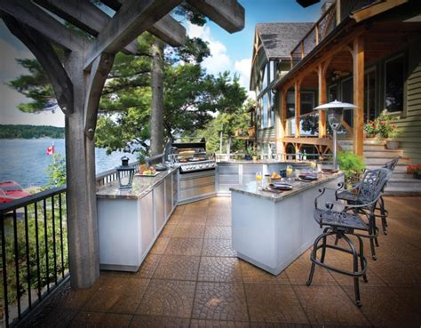 Luxury Outdoor Kitchens by 10 Outdoor Luxury Kitchen Designs Beautyharmonylife
