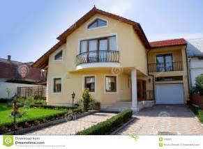 Duplex House Plan Small Villa Royalty Free Stock Photo Image 248585