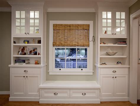 Kitchen Banquette Furniture by Built In Bookcases Ideas For Small Space