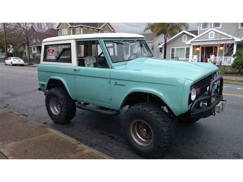 ford bronco for sale 1969 ford bronco for sale classiccars cc 914971