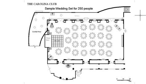 carolina club floor plan 7 best reception layouts images on wedding