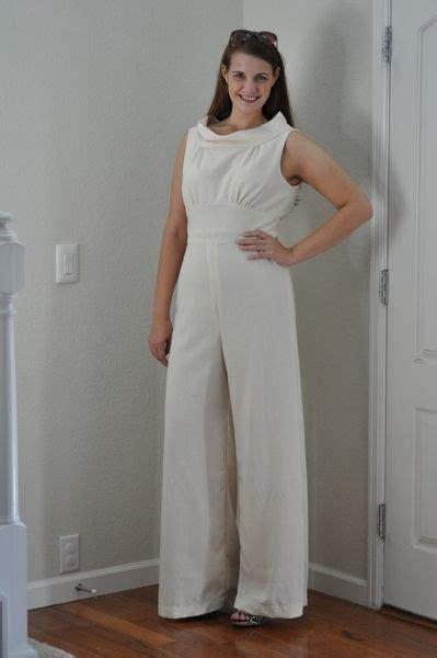 jumpsuit pattern reviews butterick misses dress and jumpsuit 6130 pattern review