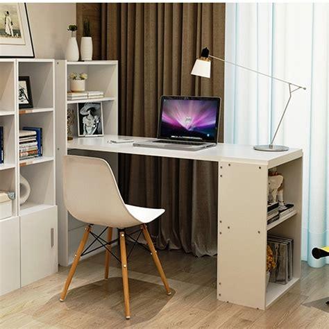 Meja Belajar Multifungsi belanja best meja kerja belajar dan rak serbaguna multifungsi putih