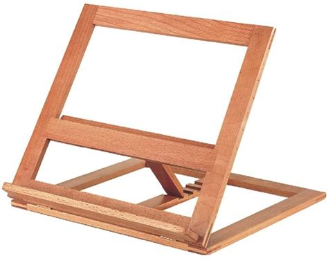 leggio da tavolo proel rsm400 leggio da tavolo in legno regolabile scavino it