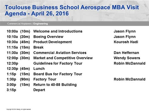 Boeing Mba Program by April 26 Day Two Seattle Tbs Aerospace Mba Pt 10