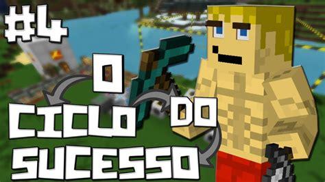 Meter Uma minecraft o ciclo do sucesso 4 meter uma quarry a bombar