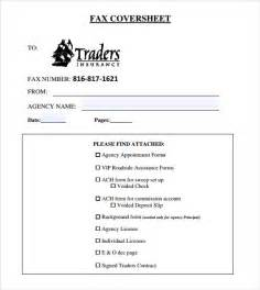 fax cover sheet template pdf sle basic fax cover sheet 7 free documents
