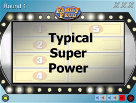family feud template for powerpoint family feud customizable powerpoint template youth