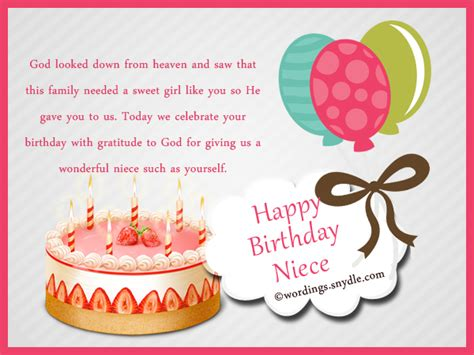 Birthday Quotes For Niece From Niece Birthday Messages Happy Birthday Wishes For Niece