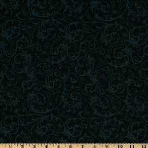 baroque 108 quot quilt backing flourish black discount