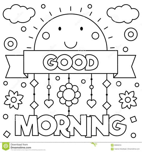 good sheets good morning afternoon coloring pages coloring page
