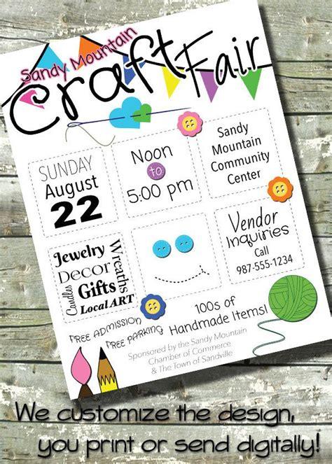 Arts Craft Fair Bazaar Flyer Event Poster Community Invitation Invite By Ditditdigital Bazaar Flyer Template