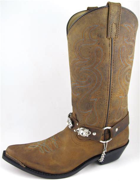 smoky mountain boots womens arroyo grande brown