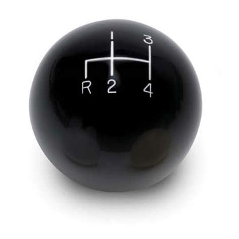 Ctr Shift Knob by Lokar Sk 6892 4 Speed Black 2 Inch Shift Knob 3 8 24 3 8
