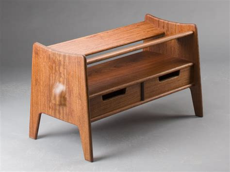 sam bench maloof inspired shoe bench instructions and templates by scott morrison