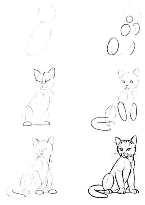imagenes faciles para dibujar a lapiz paso a paso como dibujar un gato paso a paso con l 225 piz archivos