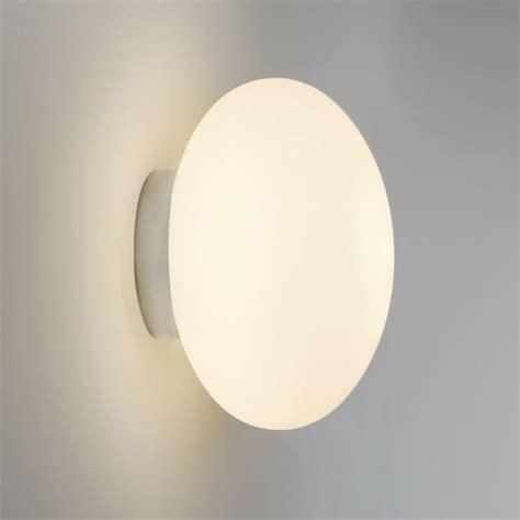 astro lighting 7247 zeppo ip44 opal glass bathroom wall light