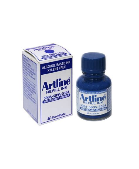 Artline Refill Ink artline esk 50a whiteboard marker refill ink 20cc blue