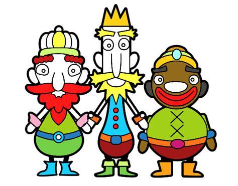 imagenes reyes magos de oriente dibujo de los reyes magos de oriente para colorear