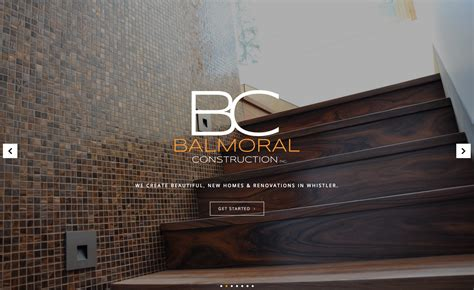 renovation websites whistler renovations new construction company website