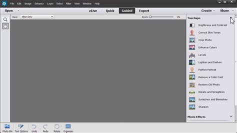 how to reset toolbar in photoshop restore a photo easily in photoshop elements the daily digi