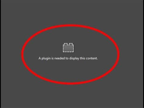 a plugin is needed to display this content android how to fix a plugin is needed to display this content error in firefox