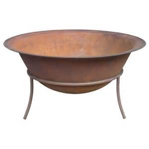 Firepit Bunnings Jumbuck Bowl Rustic Iron Bunnings Warehouse